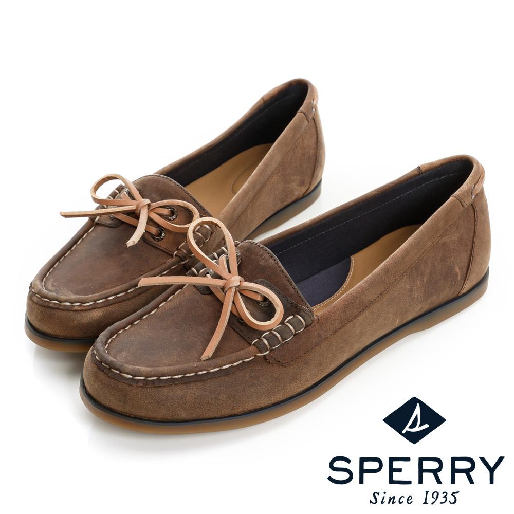 SPERRY舒適休閒帆船鞋-女-咖啡