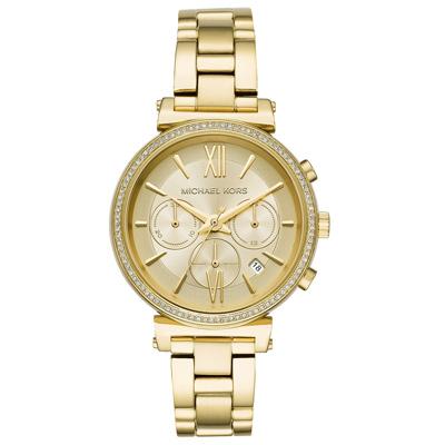Michael Kors  邂逅日內瓦晶鑽時尚腕錶-MK6559-38mm