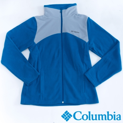 Columbia哥倫比亞  女款-保暖刷毛夾克-藍色 UAR04950BL