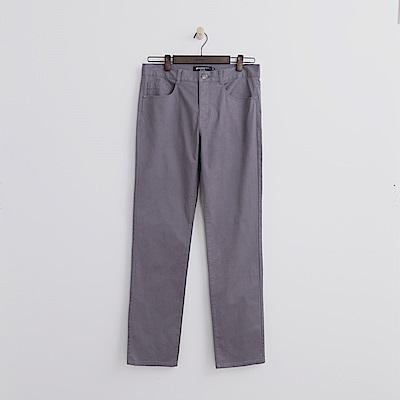 Hang-Ten-男裝-多彩修身長褲-灰色