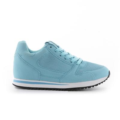 TOP GIRL-單色優雅運動慢跑休閒鞋-藍