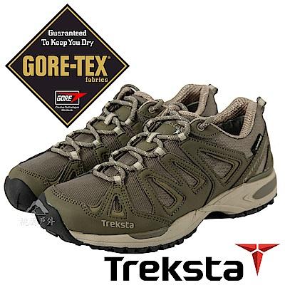 Treksta 女 Gore-Tex 防水健行登山鞋『棕色』KR 17 GW