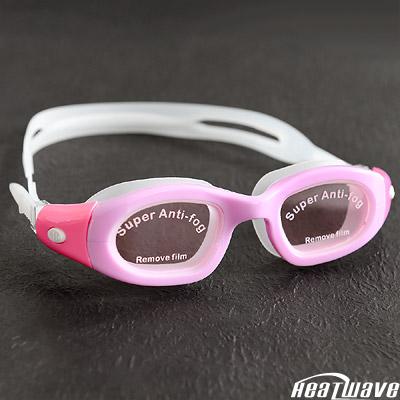 熱浪 QUICK防霧泳鏡 抗UV快調扣邊矽膠眼罩-H939