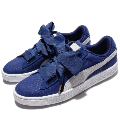 Puma Basket Heart Denim女鞋