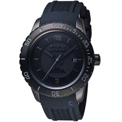瑞士WENGER Roadster 黑夜騎士時尚腕錶(01.0851.126)黑/45mm