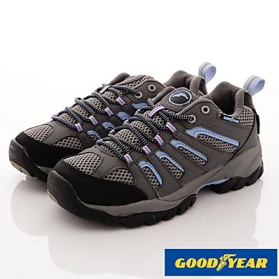 GOODYEAR-郊山徒步戶外鞋-SE2596灰藍(女段)