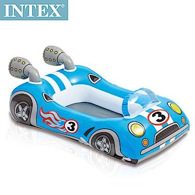 INTEX 造型游泳圈-車子/飛機/魚(隨機出貨)適用3~6歲(59380)