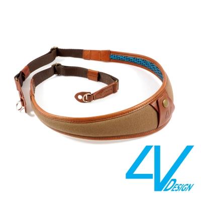 4V ALA系列相機背帶 LR-CV2223-棕/棕色(L)