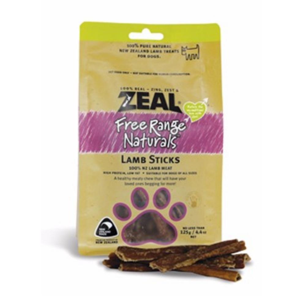 岦歐ZEAL 紐西蘭天然寵物食品《羊肉棒》125g