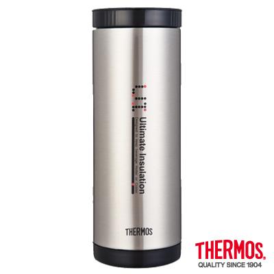 THERMOS-膳魔師不銹鋼真空保溫杯0-4L-CMC-400-SBK