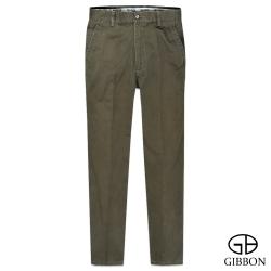 GIBBON 極簡原色平口休閒長褲‧咖啡32~42