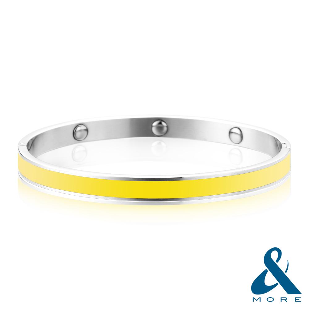 &MORE愛迪莫 鍺手環 時尚DNA(馬卡龍系列)