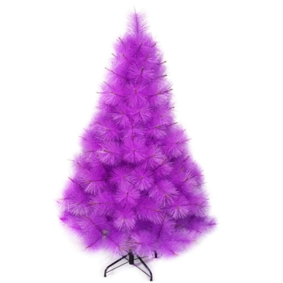 台製 4 尺( 120 cm)特級紫色松針葉聖誕樹 裸樹 (不含飾品不含燈)