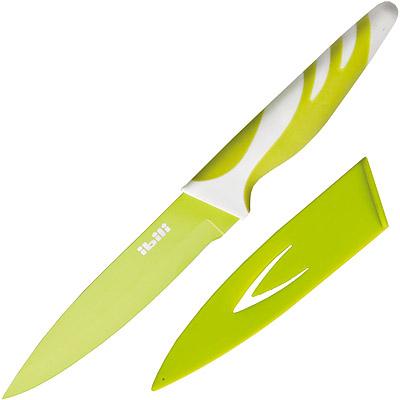 IBILI 刀套+不沾蔬果刀(綠12.5cm)