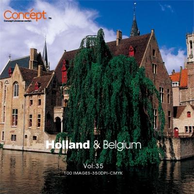 Concept創意圖庫 35-荷蘭.比利時