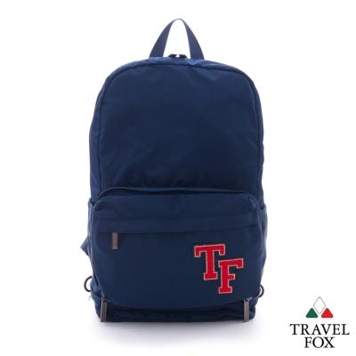Travel Fox旅狐 雙層小包百變 大容量後背包 - TF藍