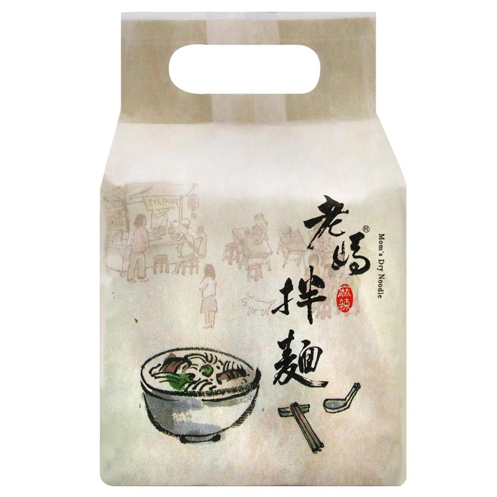 老媽拌麵 麻辣口味(101gx4包)