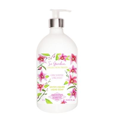 Institut Karite Paris 巴黎乳油木蘭花花園香氛液體皂1000ml
