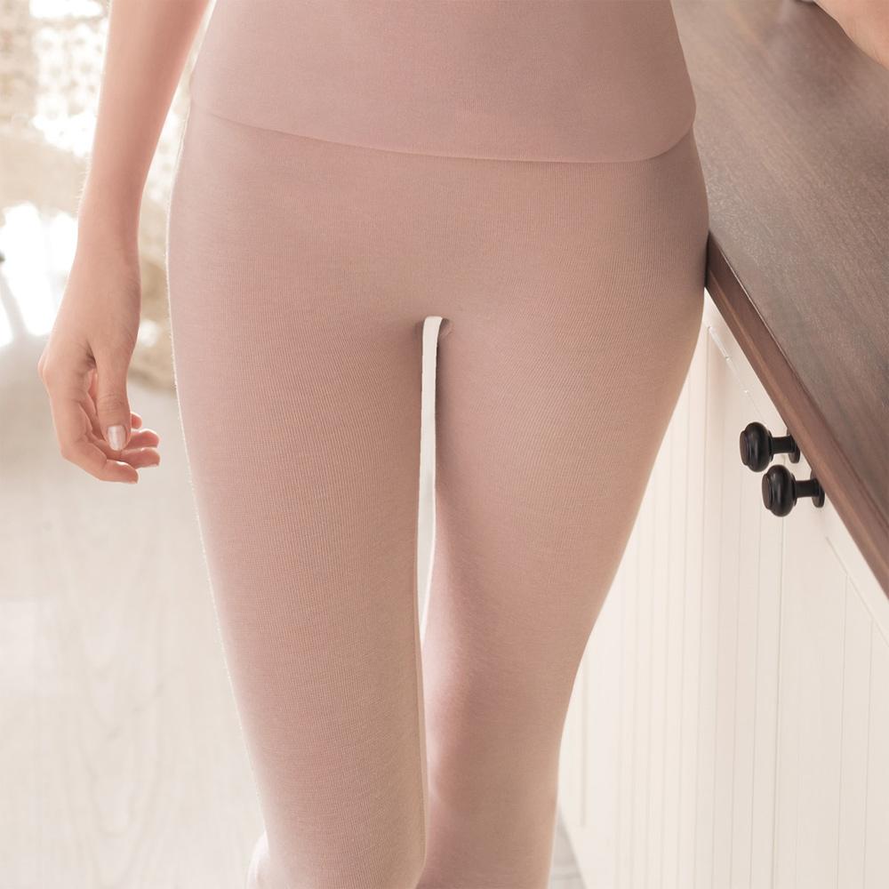 華歌爾 保暖一枚二役 M-L 保暖隨型褲(粉-舒適-保暖發熱