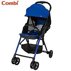 Combi F2 Plus AF超輕靚單向手推車-爵士藍