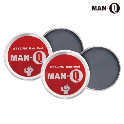 MAN-Q 強力塑型髮泥60gX2