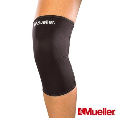 MUELLER慕樂 Neoprene膝關節束套 髕骨閉合式 黑色 護膝(MUA424)