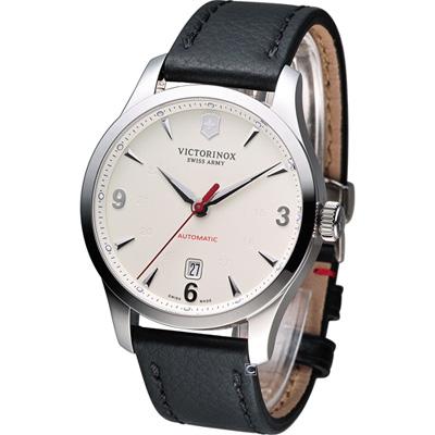 Victorinox 維氏 Alliance聯盟系列 械機腕錶-銀/40mm
