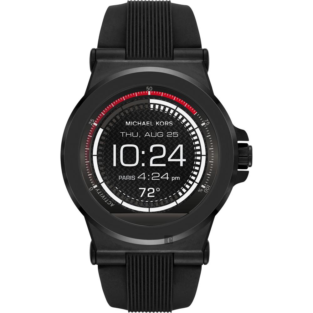 Michael Kors Access 觸控穿戴式智慧型腕錶-黑/45mm