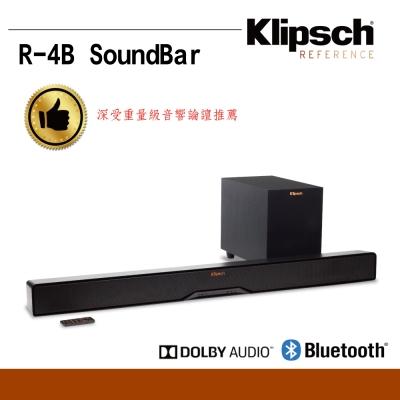 美國Klipsch2.1聲道單件式環繞SoundBar(R-4B)