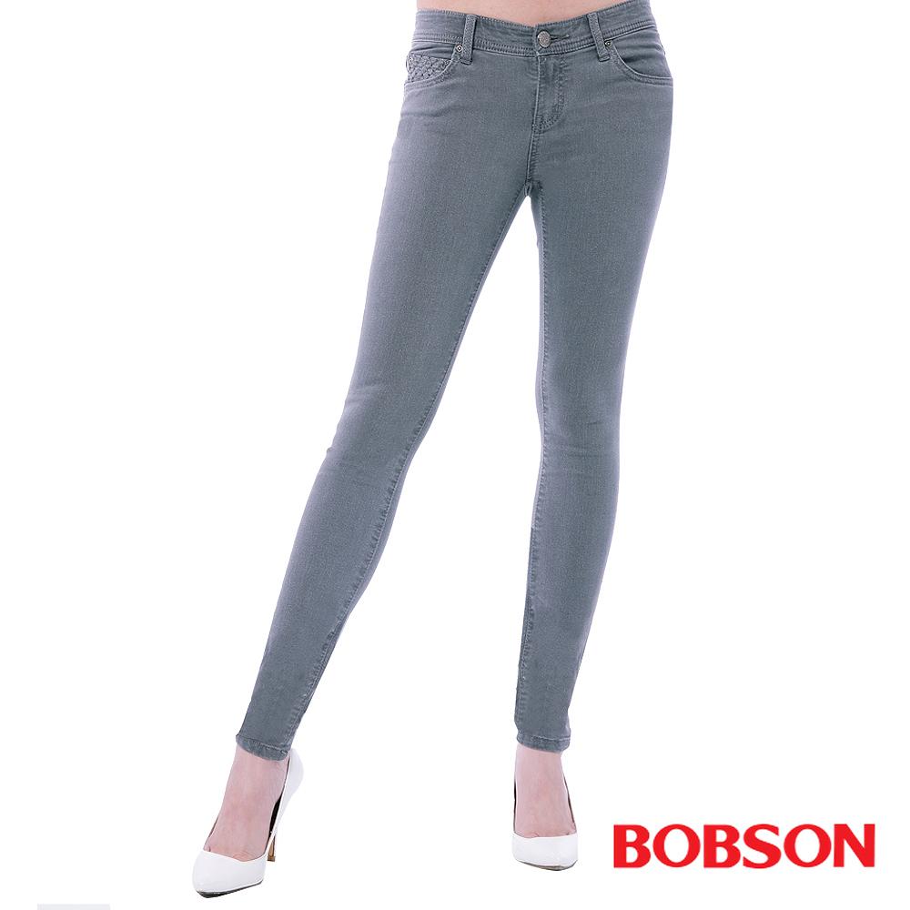 BOBSON 女款超低腰強彈力緊身褲