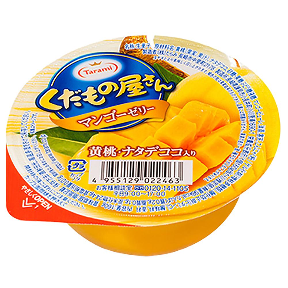 TARAMI達樂美 水果屋果凍-黃桃芒果椰果口味(160g)
