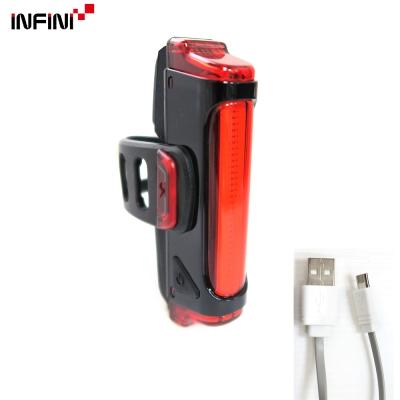 【INFINI】SWORD I-461R1 30紅光LED警示燈5模式後燈/台灣製-黑色