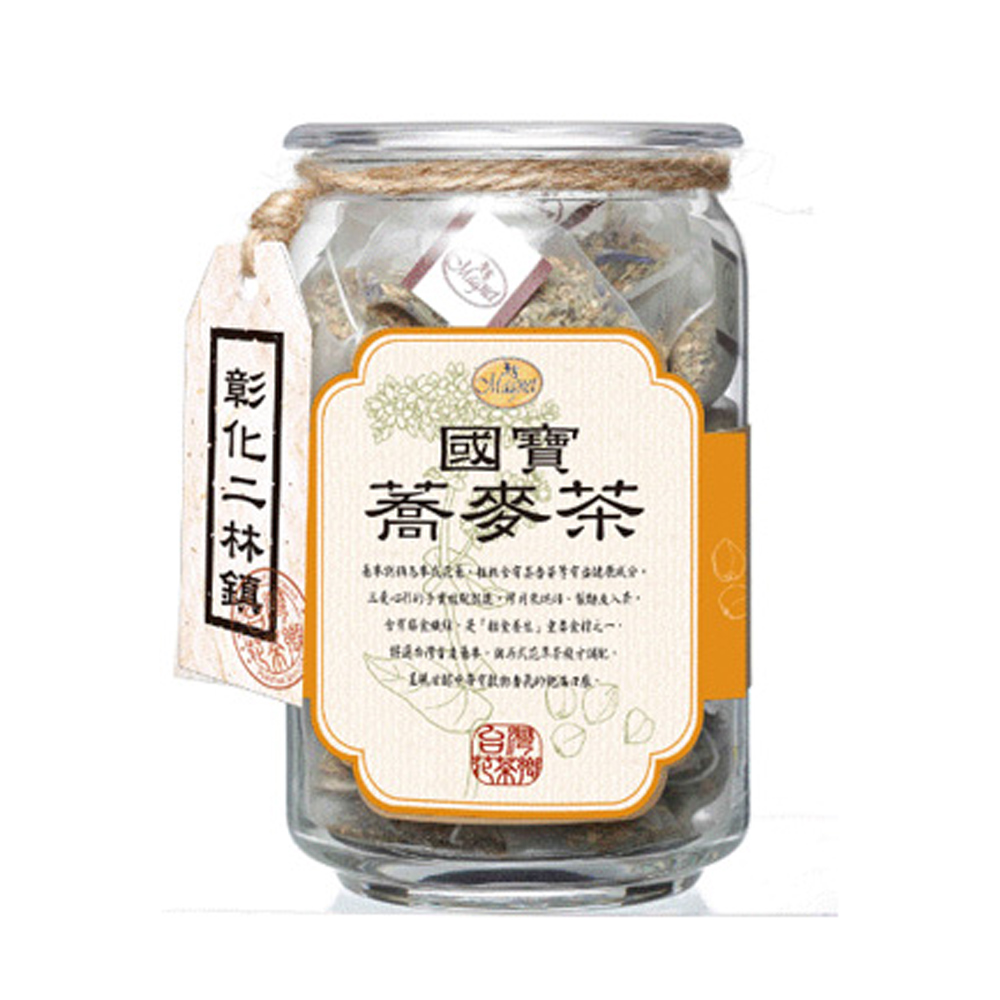 曼寧 彰化二林國寶蕎麥茶(5gx20入)