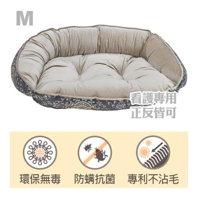 Bowsers半月極適寵物睡床-玉石白-M