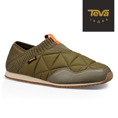 TEVA 美國-男 EmberMoc 二穿式輕量菠蘿麵包鞋 軍綠