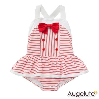baby童衣-女嬰兒蝴蝶結細肩帶包屁裙-32019