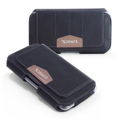 X mart Sony Xperia Z1 Compact流行潮流腰掛隱形磁扣皮...