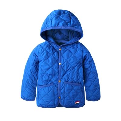 baby童衣-兒童外套-連帽前開扣鋪棉外套