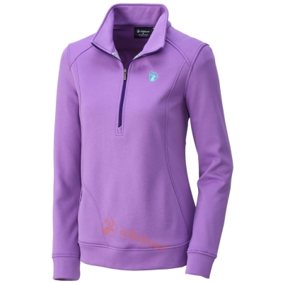 Wildland 荒野 0A32601-50粉紫色 女 雙色輕量保暖上衣