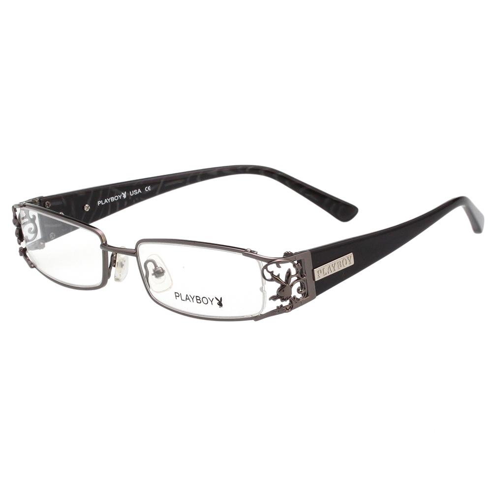 PLAYBOY 時尚光學眼鏡 (槍色)