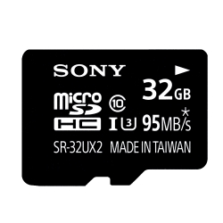 SONY 32GB microSDHC R95MB/s W70MB/s C10 U3記憶卡