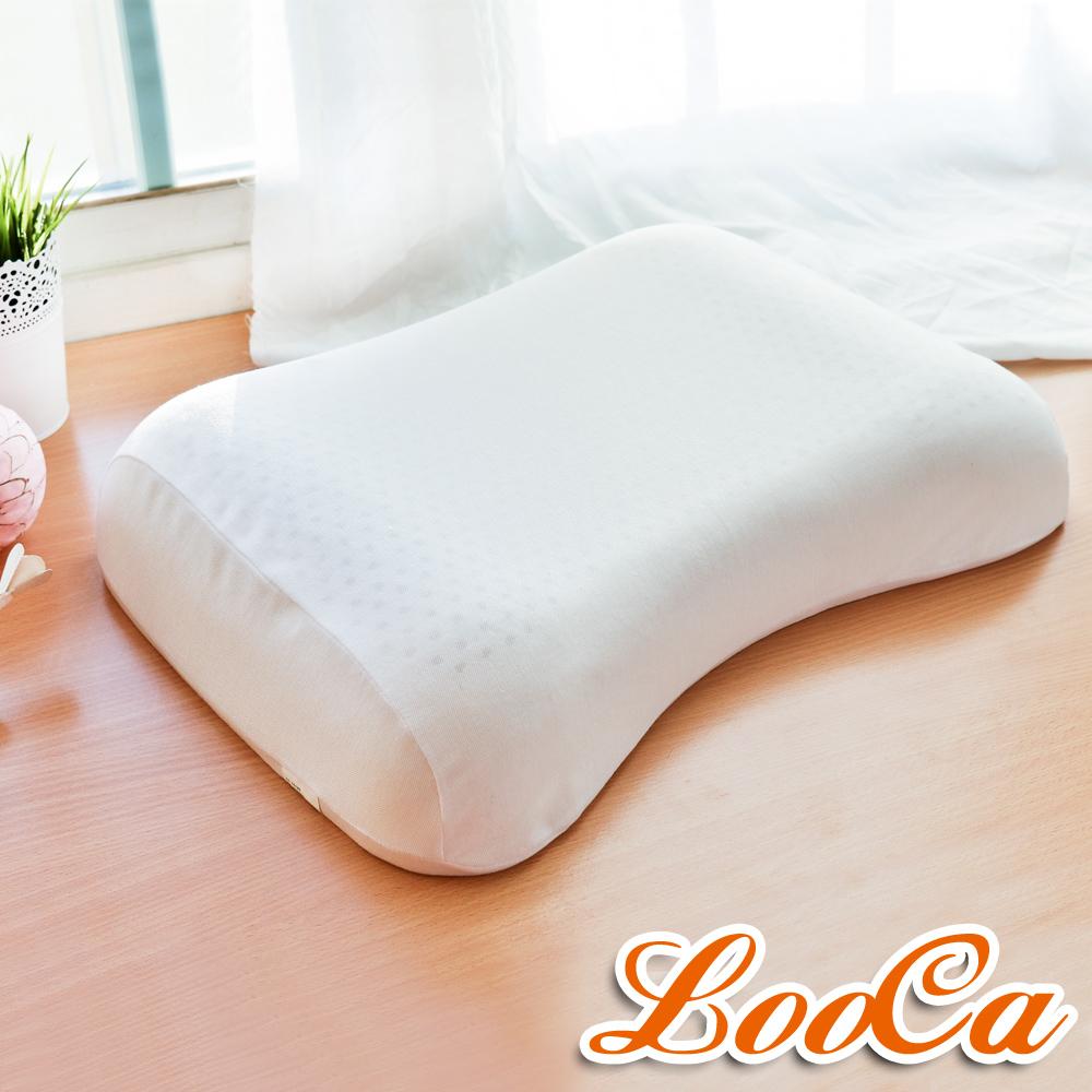 LooCa 機能天然乳膠枕-波型 2入