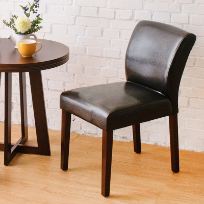 Boden-托比簡約實木餐椅/單椅(黑色)-42x58x78cm