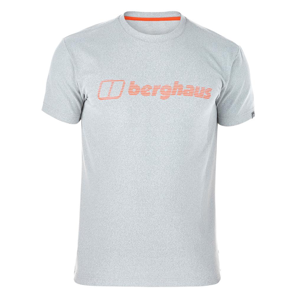 【Berghaus 貝豪斯】男款銀離子除臭抗菌抗UV上衣S04M09-灰
