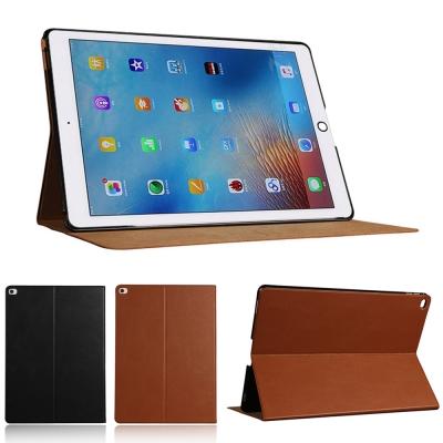 Apple iPad Pro 12.9吋平板電腦專用直接斜立式牛皮皮套保護套