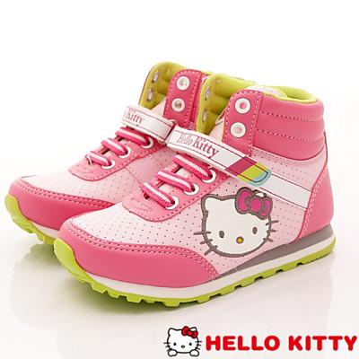 HelloKitty童鞋-護踝短筒款-15165粉(中大童段)HC