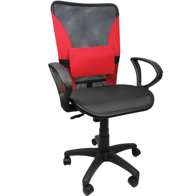 Design 多彩實用護腰網布涼爽椅/辦公椅/電腦椅4色