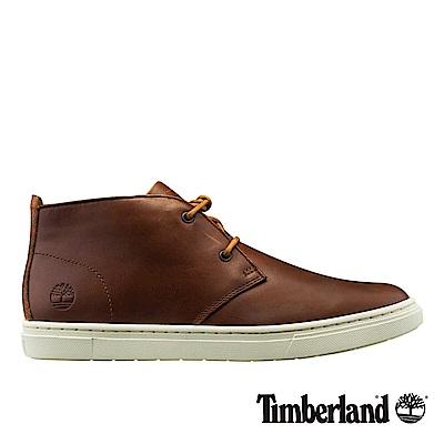Timberland 男款中咖啡色粒面3.0 Cupsole素面休閒鞋