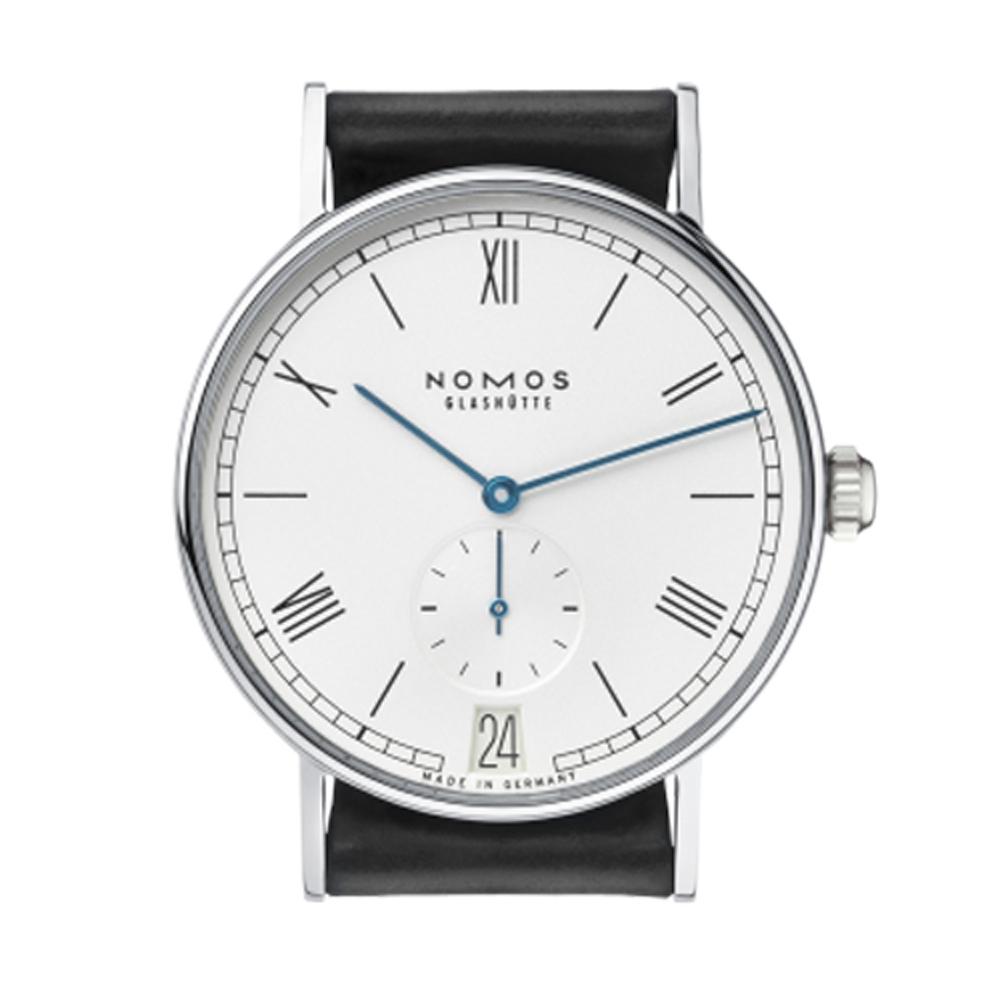 NOMOS Ludwig Automatic Date 271 小秒針腕錶-白/40mm