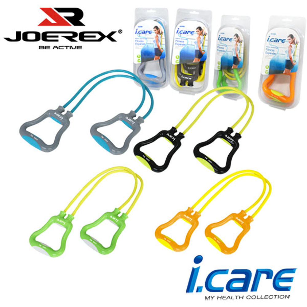 【JOEREX】 艾可兒多功能雙管塑身健美器/雙管拉力器-JIC031